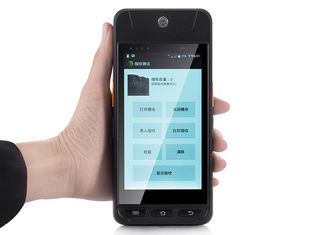China 4G GPS BDS Hand-drahtloser Barcode-am Endescanner Position mit Thermal-Drucker fournisseur